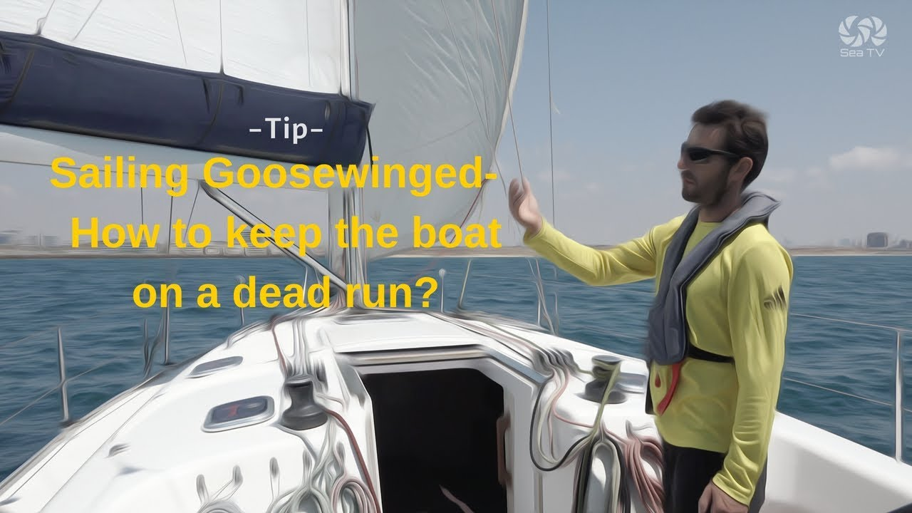 Sailing Goosewinged - How to keep the boat on a dead run? - Tip