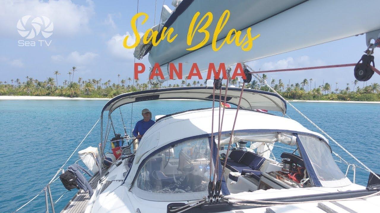 Sailing to San Blas, Panama