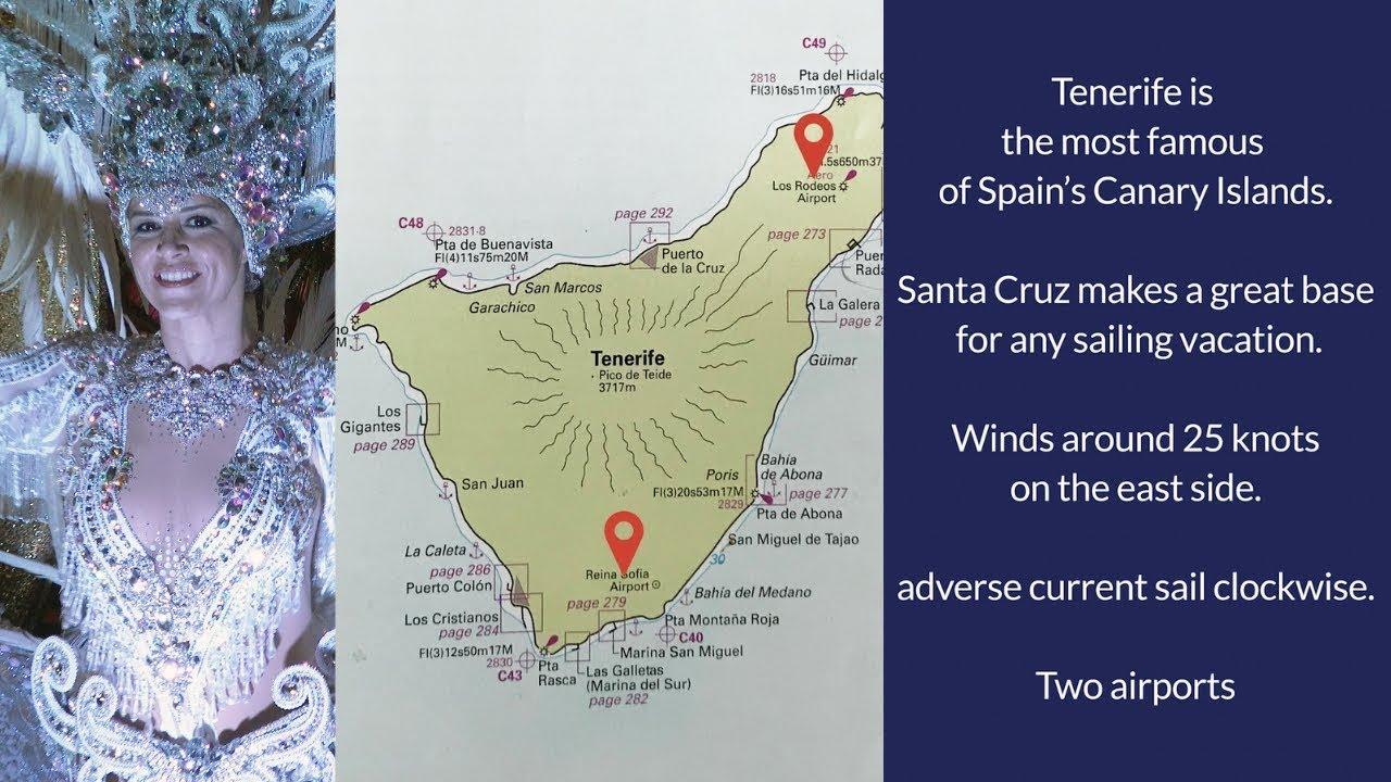 Sail Cruise & Carnival - Santa Cruz Marina Tenerife Spain