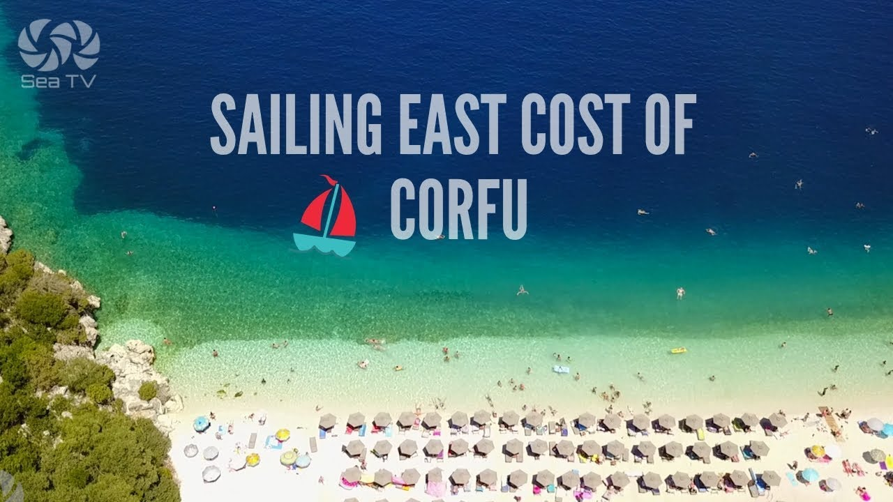 Sail Greece- Sailing in the east cost of corfu