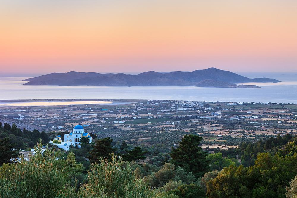 a beautiful sunset in Kos island, Greece